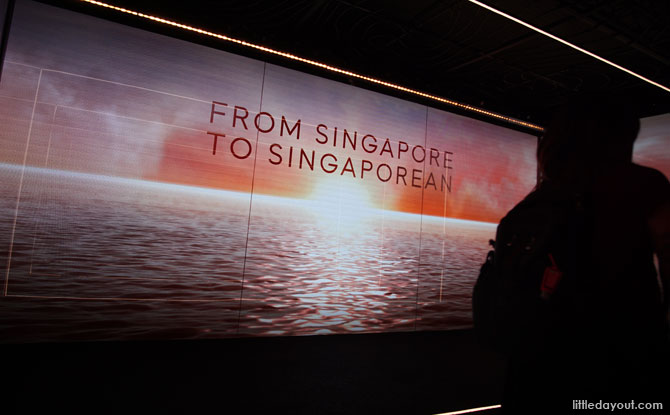 From Singapore To Singaporean: The Bicentennial Experience, Fort Canning Centre