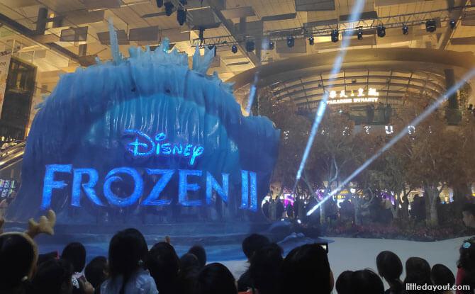 Let it Sparkle & Shine Frozen Light Show