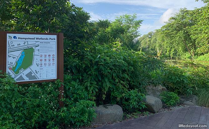 Look out platform, Hampstead Wetland Park