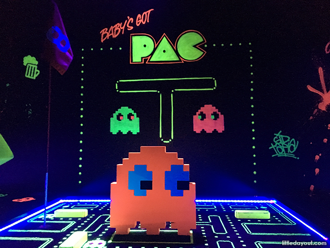 Pacman at Holey Moley