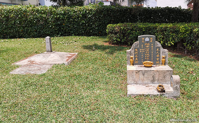 Two Chinese Graves