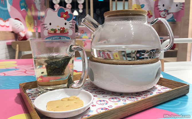 Hot Tea with the choice of Jasmine, Oolong, Earl Grey, Lychee or Berries.