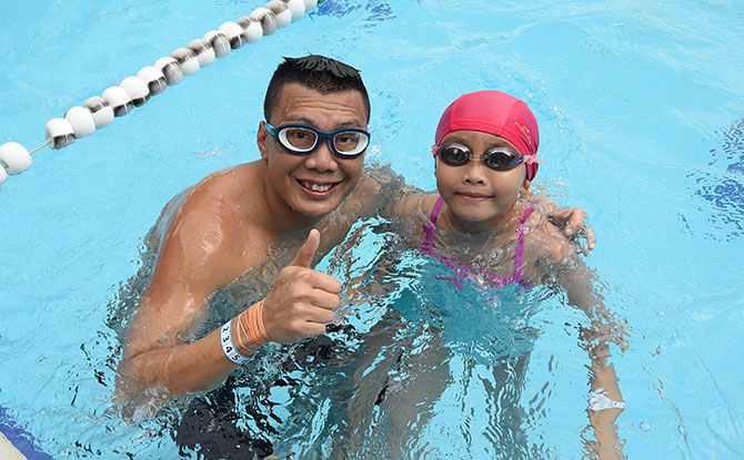 Liberty SAFRA Swim For Hope 2020