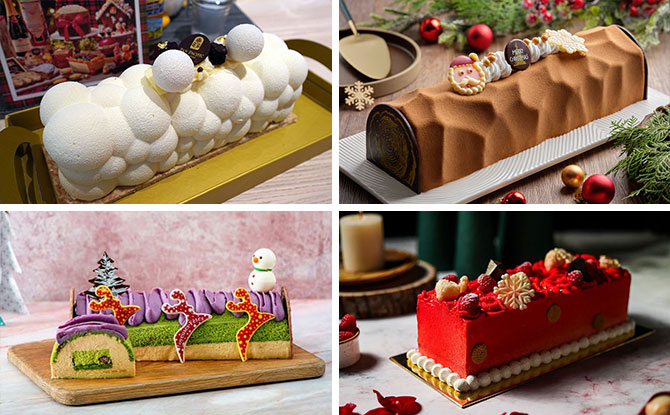 Singapore Log Cake 2020