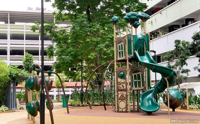 """Treehouse"" Playground"