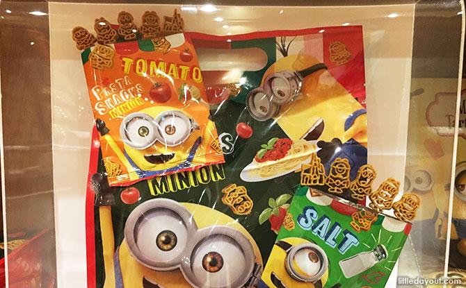 Minion Pasta Snacks
