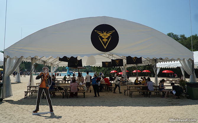 Player's Tents