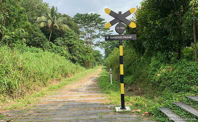 Railway Signs at the Green Corridor