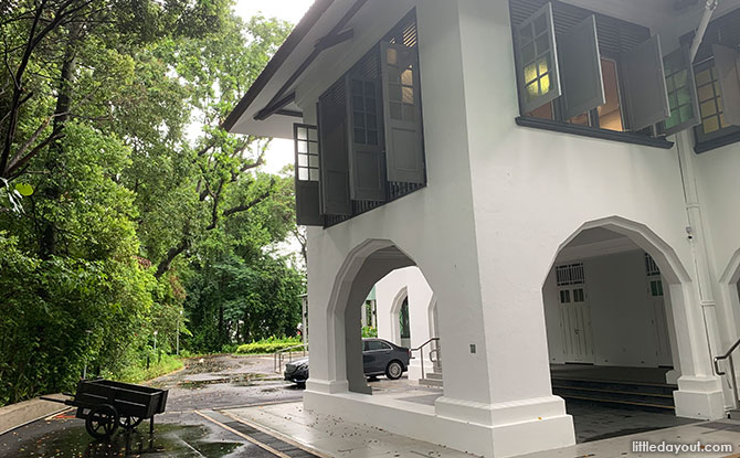 Reflections at Bukit Chandu Building Pepys Road