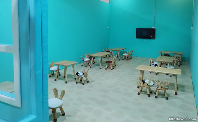 Event Space at Smigy Indoor Playground