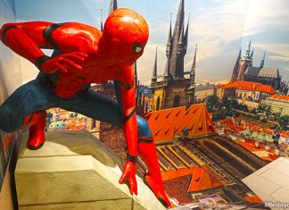Spider-Man Trick Eye Exhibition