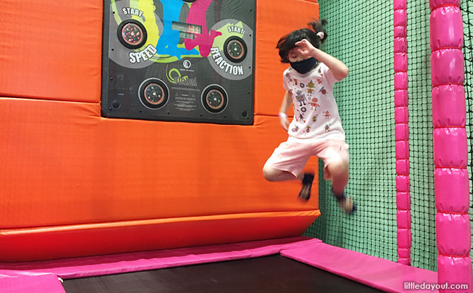 CardioWall Freestyle Interactive Trampolines