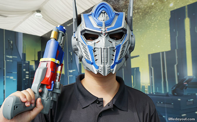 Transformers Laser Tag