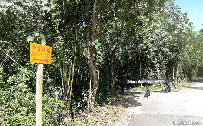Ketam Mountain Bike Park & German Girl Shrine