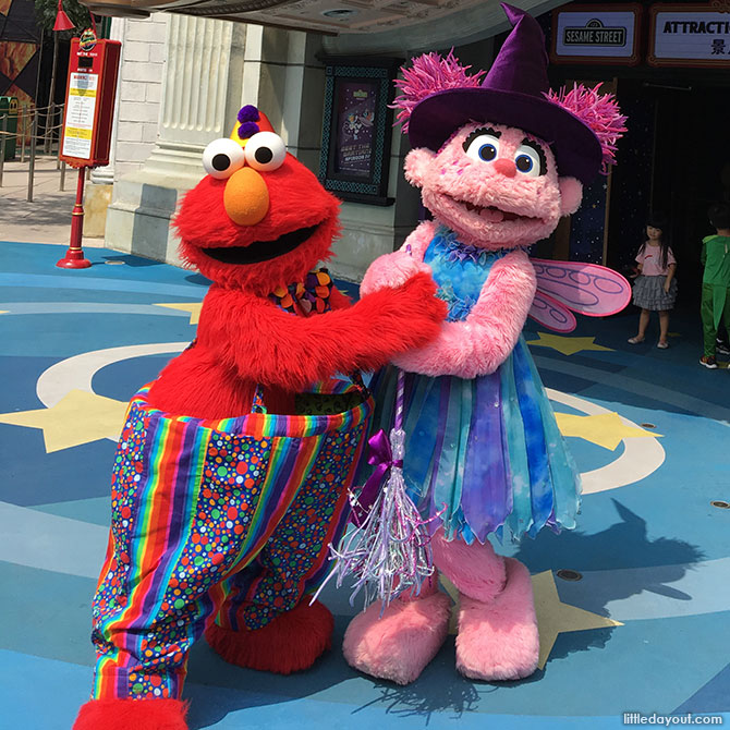 Meet and Greet with Sesame Street Friends