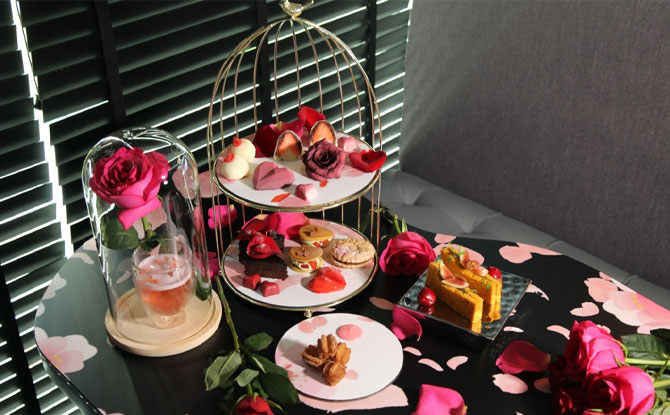Hearts & Roses High Tea by Janice Wong
