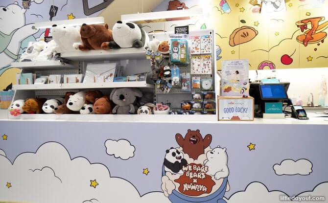 We Bare Bears Cafe at Kumoya