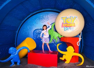 Alysa's Day Out At Hong Kong Disneyland