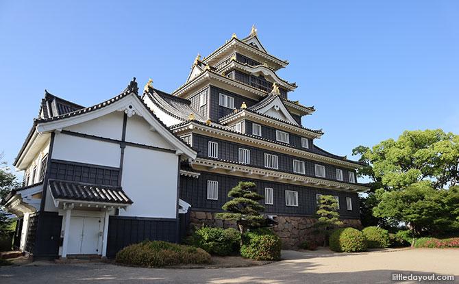View of Okayama Castle