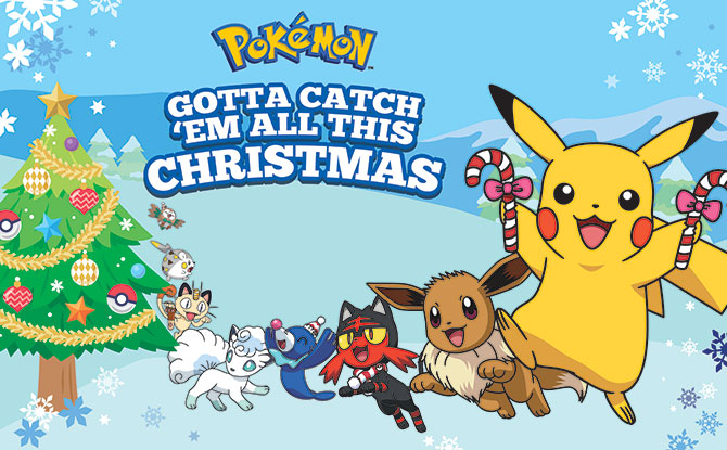 Pokemon Christmas.Amk Hub Jurong Point And Thomson Plaza Are Having A Pokemon