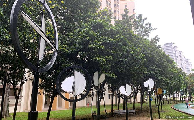 Wind sculptures