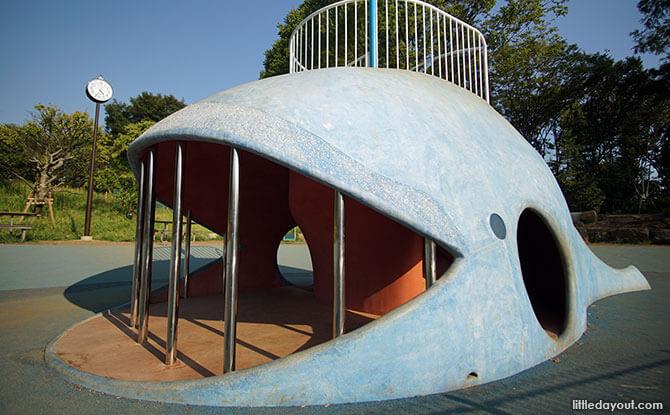 Shinagawa Kumin Park, Tokyo: A Whale of a Time