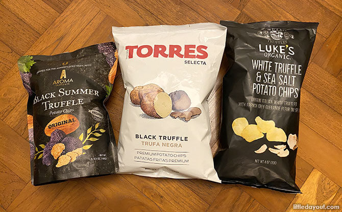 Best Truffle-flavoured Potato Chips in Singapore