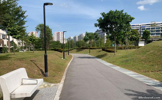 Visiting Ang Mo Kio Linear Park