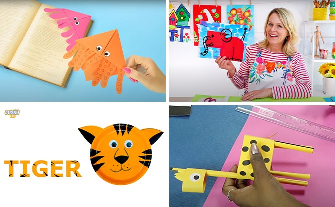 10 Animal-Themed Art & Craft Activities to Do With Kids