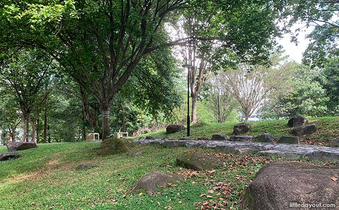 Hillside Paths at Bishan Harmony Park