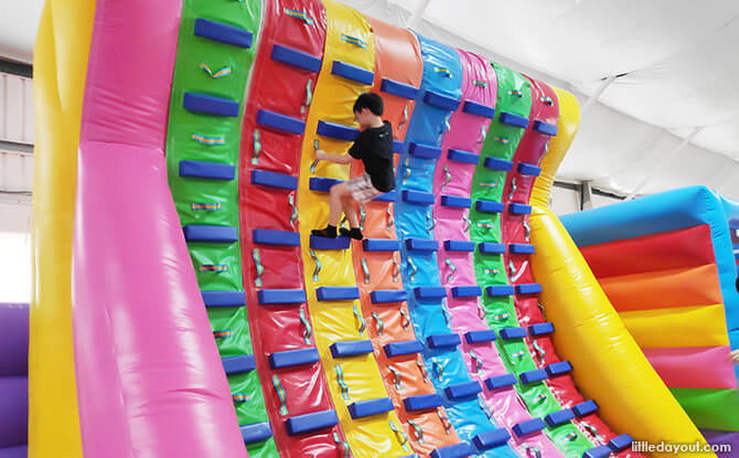 New Elements at Bouncy Paradise Indoor Playground