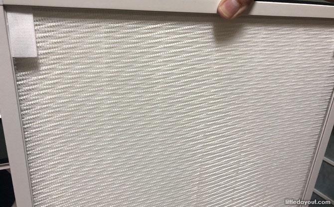 world's longest HEPA filter or High-efficiency Particulate Air (HEPA) platinum filter