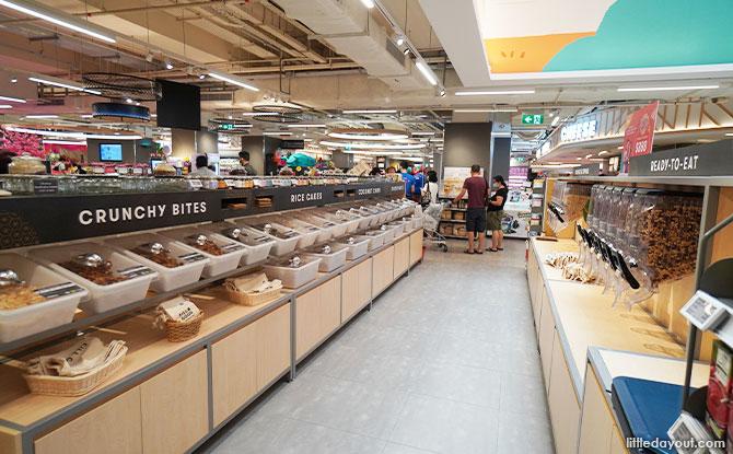 bulk foods FairPrice Xtra Parkway