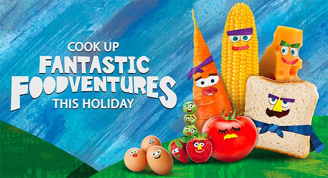 Fantastic Foodventures at NTUC FairPrice for the Holidays