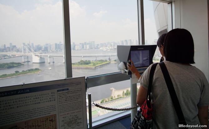 Observation cameras, Fuji TV Building