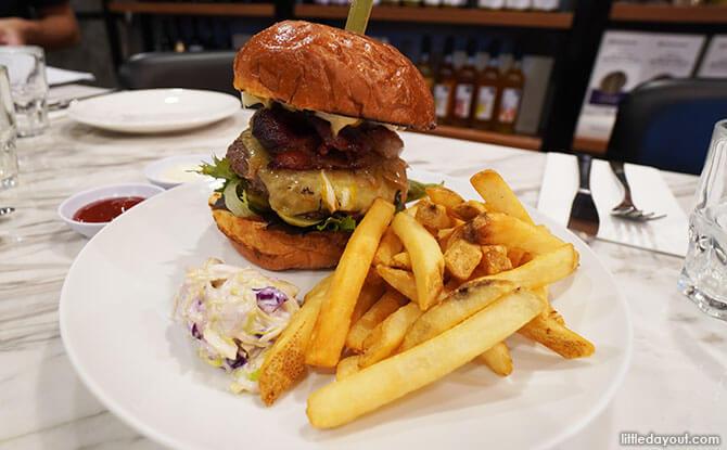 Ultimate Mr Jones Burger