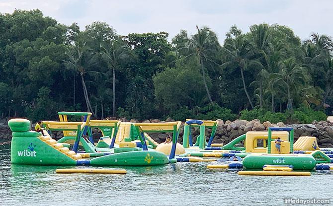HydroDash, Sentosa Palawan Beach