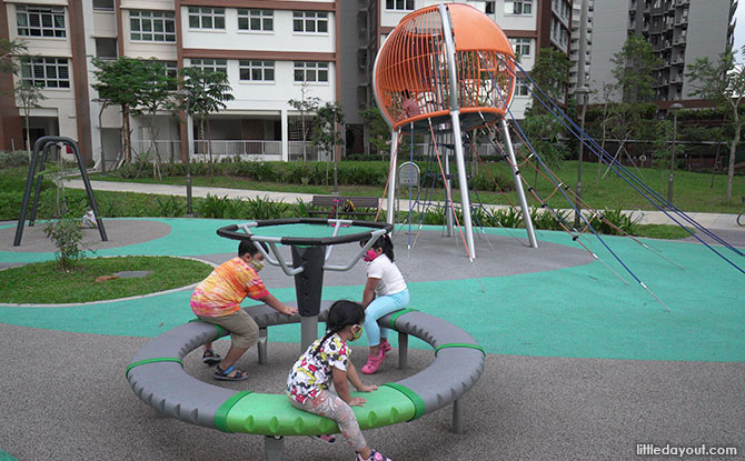Anchorvale Plain Playground Overview