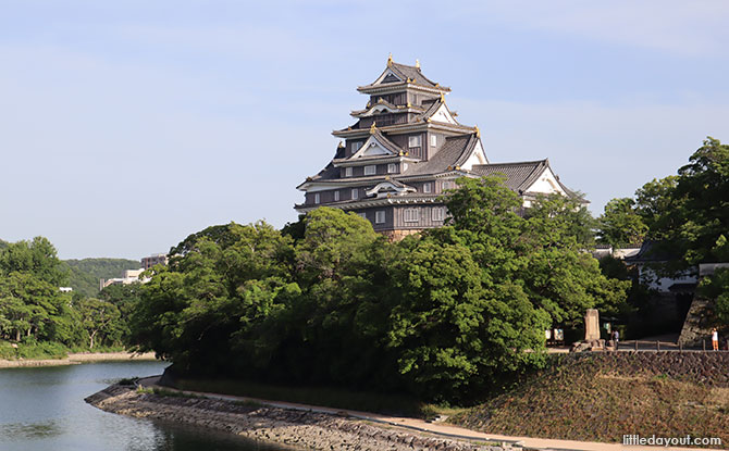 Okayama Castle views