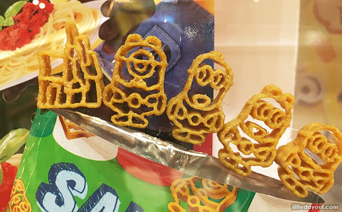Cute Minion Pasta Snacks