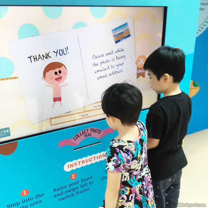 Photo booth - June holidays 2018 at Forum The Shopping Mall