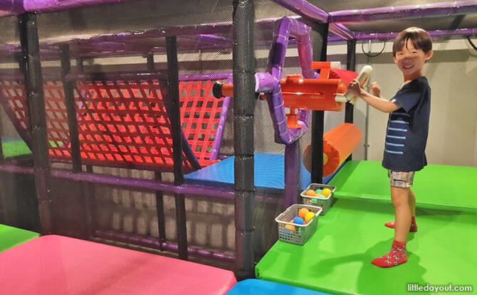 PLAY! Indoor Playground at Changi Airport T3