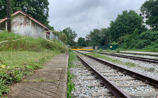 Visiting the Old Bukit Timah Railway Station