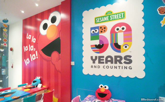 Kumoya Cafe Sesame Street Pop-up