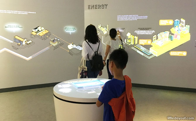 Interactive exhibits at revamped Singapore City Gallery 2019