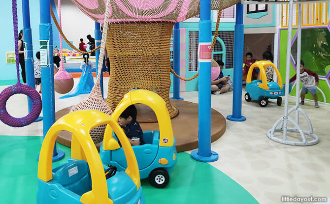 SMIGY PLQ Indoor Playground: Kids Get To Go Swinging, Bouncing And Play-Pretend At Paya Lebar Quarter Mall