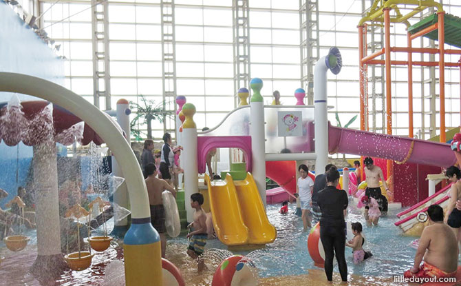 Kiddy water play area