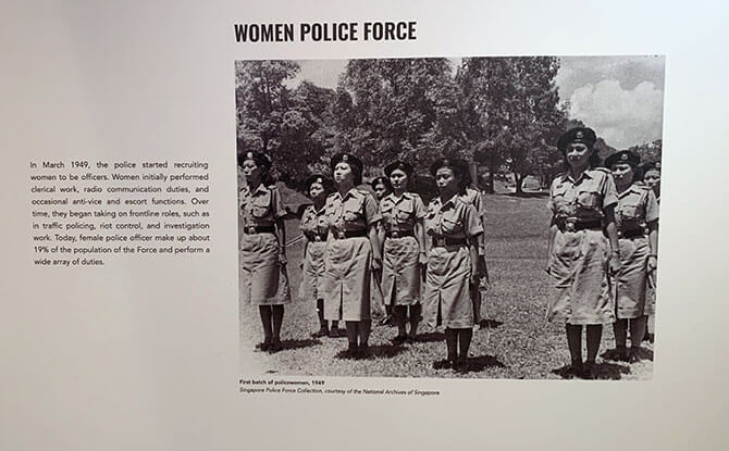 Women in the SPF