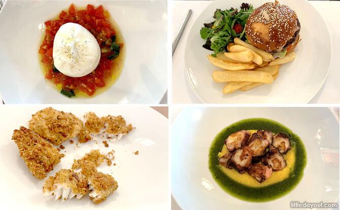 St. Regis Singapore Staycation LaBrezza Italian Restaurant