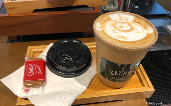 custom latte art